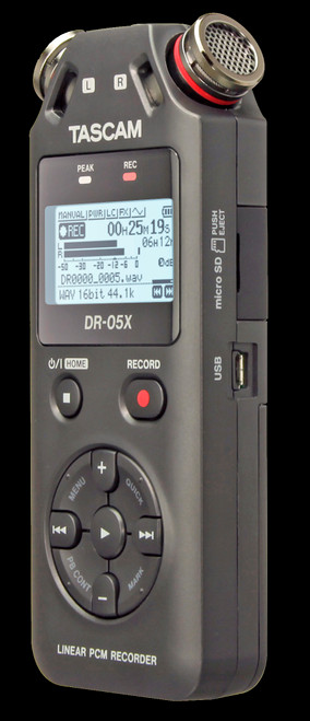 TASCAM DR-05X Stereo Handheld Digital Audio Recorder / USB Audio Interface