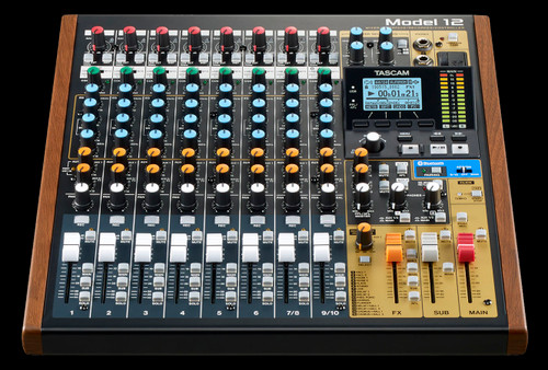 TASCAM MODEL 12 Compact All-in-one Integrated Mixer