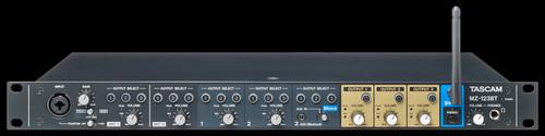 TASCAM MZ-123BT 1U Multi-channel, Multi-zone Professional installation Mixer