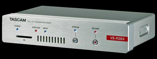 TASCAM VS-R264 Full HD AV Over IP Streaming Encoder / Decoder
