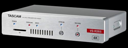 TASCAM VS-R265 4K / UHD AV Over IP Streaming Encoder / Decoder