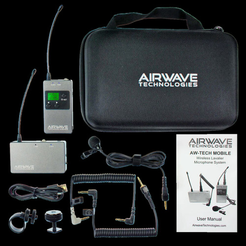 Airwave AW-Tech Moble Wireless Microphone System