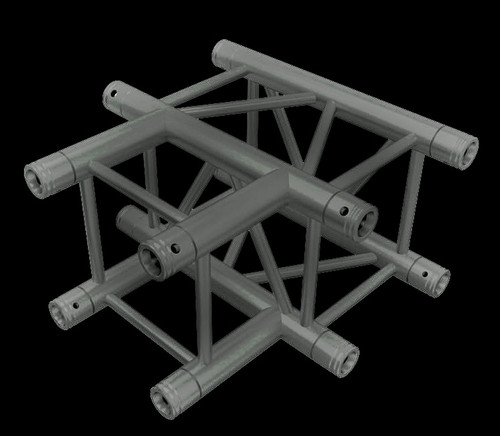 "Global Truss F34 12"" Square Truss 3 Way T-Junction / 1.64ft. (0.5m)"
