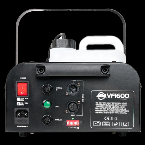 ADJ VF1600 Mobile DMX DJ Fog Machine