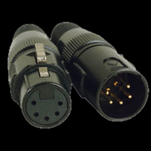 Accu Cable 10 FT 5 Pin DMX Cable / AC5PDMX10