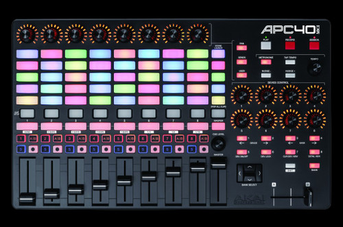 AKAI Professional APC40 MIDI Console w/ Pangolin BEYOND Skin