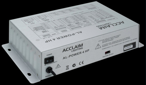 Acclaim AL Power 4 HP LED High Performance Driver & Power Supply