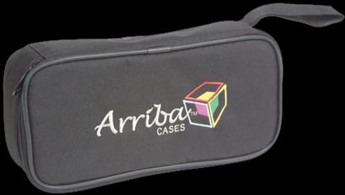 Arriba Basic DJ Microphone Soft Padded Storage Case