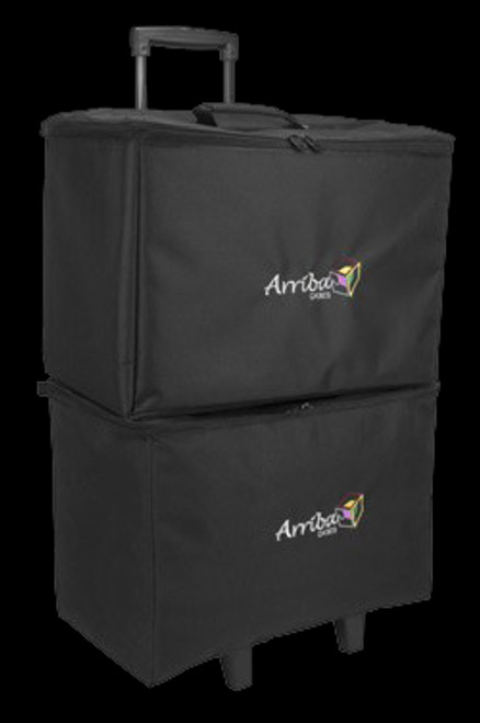 "Arriba 19"" Stackable Rolling Multi-purpose Padded Equipment Bag"