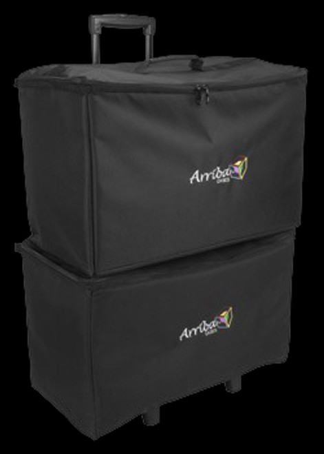 "Arriba 22"" Multi-purpose Stackable Rolling DJ Equipment Case / ACR22"