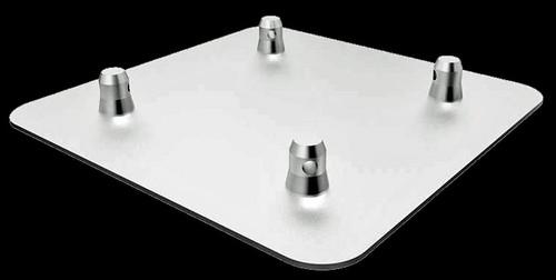 """Global Truss 16"""" x 16"""" Aluminum Truss Base Plate"""