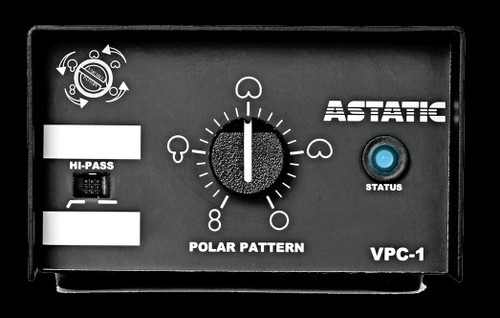 CAD Astatic 1700VP Continuously-variable Condenser Overhead Microphone