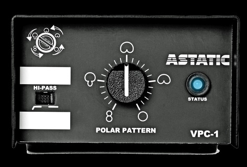 "CAD Astatic Commercial Variable Polar Pattern, 18"" Podium Microphone"