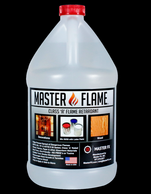 Master Flame Class 'A' Non-toxic, ECO-friendly Fire Retardant