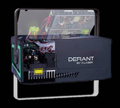 X-Laser Defiant RGB Laser / Polaris Audience Immersion Technology