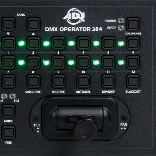 ADJ DMX Operator 384 Rack Mount DMX MIDI Controller Light Board