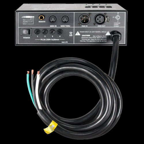 Elation CYBER PACK 20A / 4 Channel MIDI / Dimmer / Power Pack