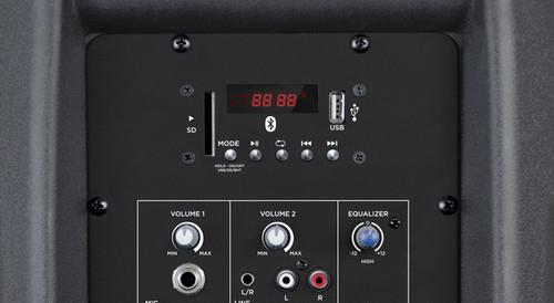 Gemini AS-12BLU 12-Inch Powered Bluetooth Loudspeaker