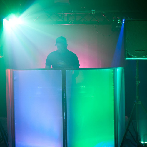 ADJ Event Facade Portable DJ Equipment Concealment Panel