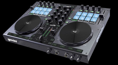 Gemini G2V 2-Channel USB / MIDI Controller w/ Virtual DJ