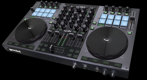 Gemini G4V 4-Channel Virtual USB / MIDI DJ Controller