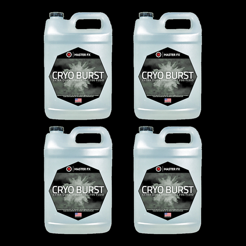 Master FX Cryo Burst C02 Effect Fast Dissipating Refill Fog Fluid