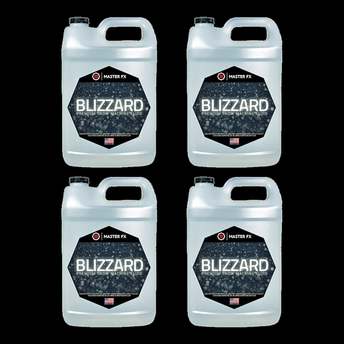 Master FX Blizzard In a Bottle Standard Snow Machine Refill Fluid