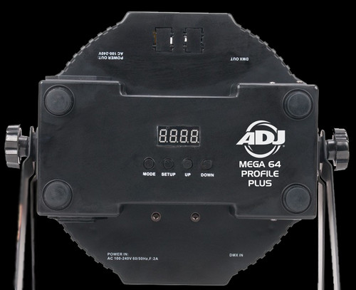 ADJ Mega 64 Profile Plus Quad LED Par Can Lights / RGB+UV