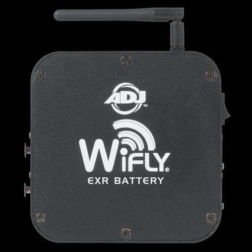 ADJ WiFLY EXR Battery / Wireless DMX Transceiver / Battery Powered