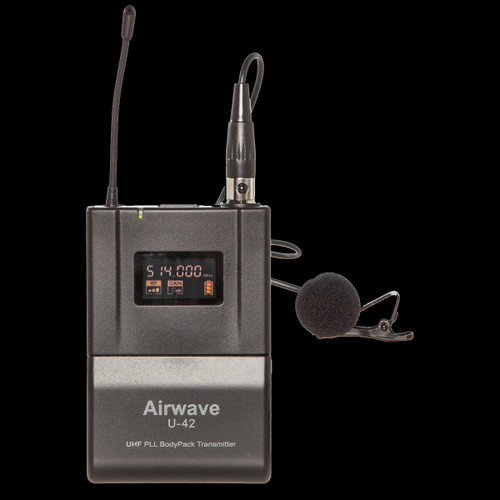 Airwave AT-4250 Handheld / Bodypack Wireless Microphone System
