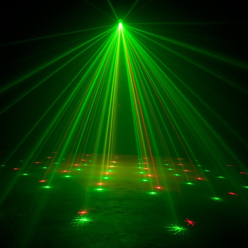ADJ Micro Galaxian II - Red / Green Starburst Effect Laser