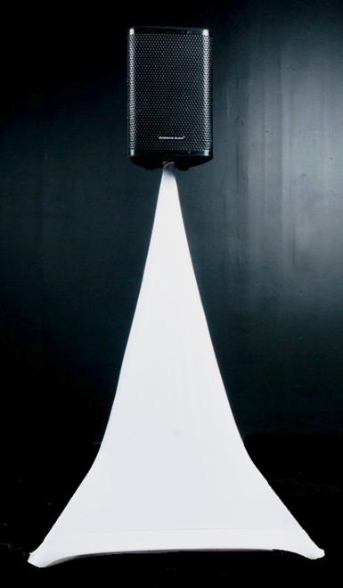 American Audio Event / Speaker Stand Scrim / White