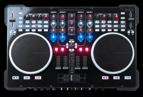 American Audio VMS5 6 Channel All-in-one MIDI DJ Controller