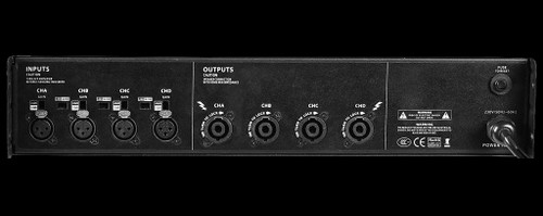 Omnisistem Beta 3 - 2 x 1000W + 2 x 1700W Power Amplifier