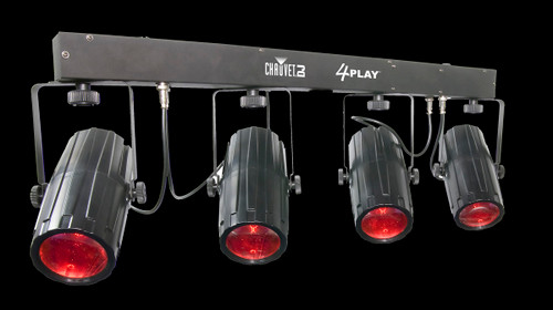 Chauvet DJ 4PLAY II Quad LED Moonflowers Effect Par Can System