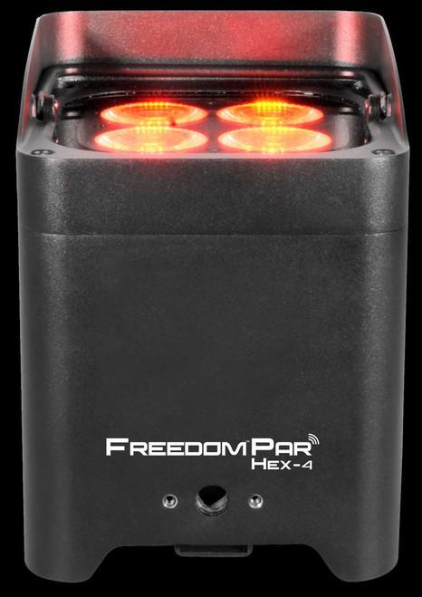 Chauvet DJ Freedom Par Hex-4 Wireless, Battery Powered LED Par Can