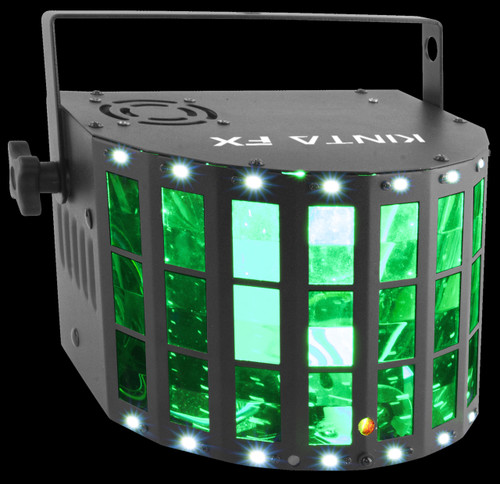 Chauvet DJ Kinta FX Derby / Strobe / Laser Effect Centerpiece Light