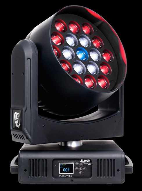 Elation Platinum 1200 Wash LED Color Wash Moving Head