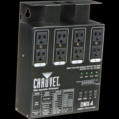Chauvet DJ DMX-4  / 4-channel Dimmer / Relay Pack