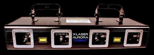 X-Laser Aurora Cobalt Liquid Sky Laser Projector