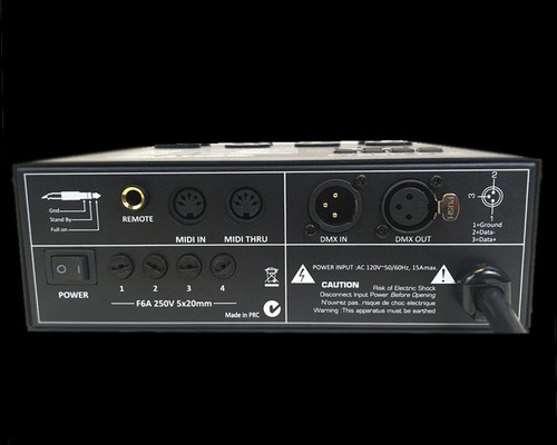 Elation CYBER PAK 15A - 4 Channel Dimmer / Power / MIDI Pack