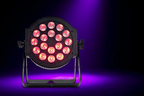 ADJ 18P Hex LED Par Can Light w/ DMX / RGBAW + UV