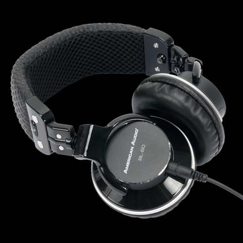 American Audio BL-60 Professional DJ Headphones