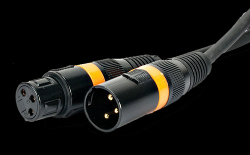 Accu Cable 25 Ft 3 Pin DMX Cable / AC3PDMX25