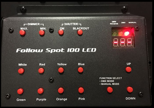 Eliminator Lighting Follow Spot 100 LED Theatrical Stage Light
