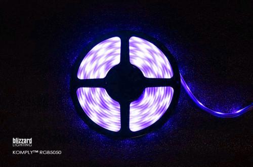 Blizzard Lighting Komply RGB LED Indoor / Outdoor FLEX Ribbon / 5050