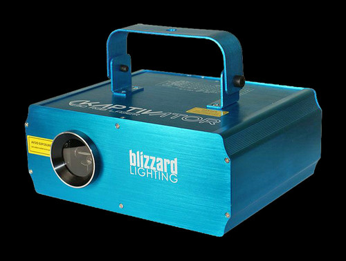Blizzard Lighting Kaptivator High Power RGB 3D Effect Laser