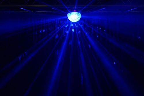 Blizzard Lighting Snowball Starburst DMX Effect Light