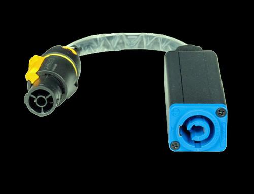 Accu Cable IP65 Standard Powercon Input Adaptor / SIP1PCIA
