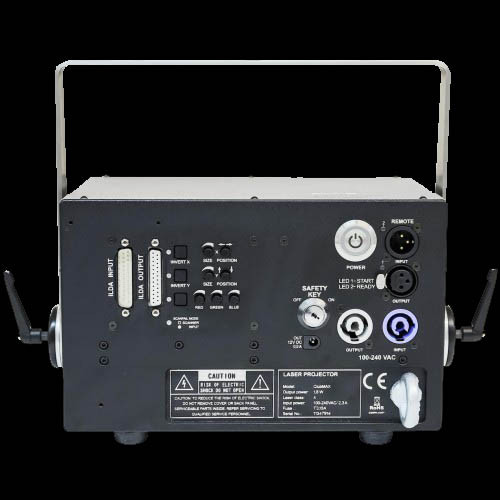 KVANT ClubMAX 1000 RGB Laser Projector / 40kpps
